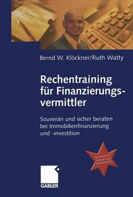 Rechentraining fur Finanzierungsvermittler (Paperback)