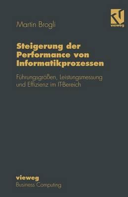 Steigerung Der Performance Von Informatikprozessen: F hrungsgr  en, Leistungsmessung Und Effizienz Im It-Bereich - Wirtschaftswissenschaften (Paperback)