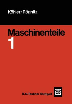 Maschinenteile: Teil1 (Paperback)