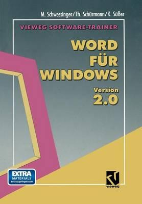 Vieweg Software-Trainer Word F r Windows 2.0