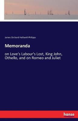 Memoranda (Paperback)