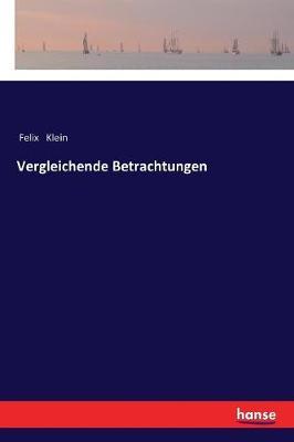 Vergleichende Betrachtungen (Paperback)