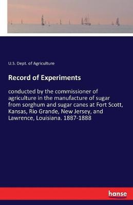 Record of Experiments (Paperback)