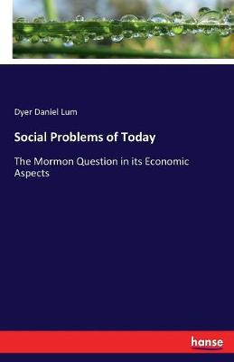 Social Problems of Today (Paperback)