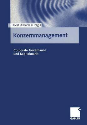 Konzernmanagement (Paperback)