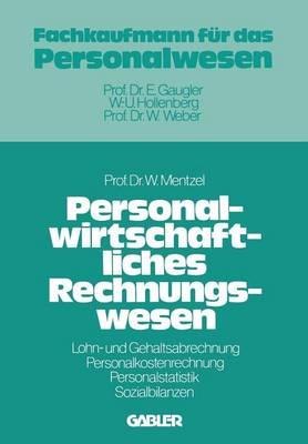 Personalwirtschaftliches Rechnungswesen (Paperback)