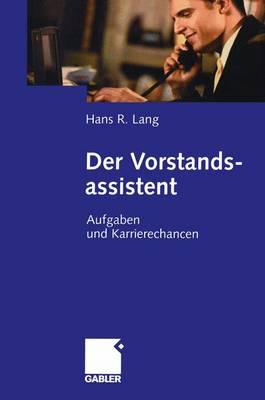 Der Vorstandsassistent (Paperback)