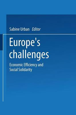 Europe's Challenges: Economic Efficiency and Social Solidarity (Paperback)