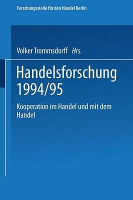 Kooperation Im Handel Und Mit Dem Handel (Paperback)