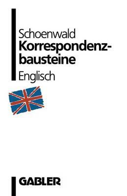 Korrespondenzbausteine Englisch (Paperback)