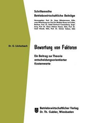 Bewertung von Faktoren (Paperback)
