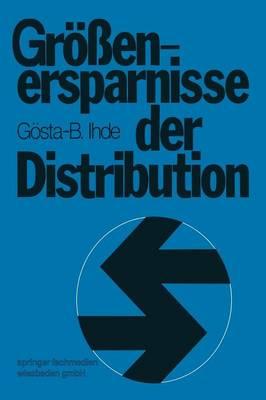 Groessenersparnisse Der Distribution (Paperback)