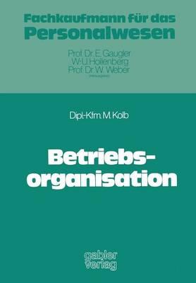 Betriebsorganisation (Paperback)