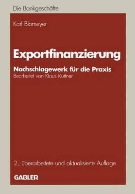 Exportfinanzierung (Paperback)