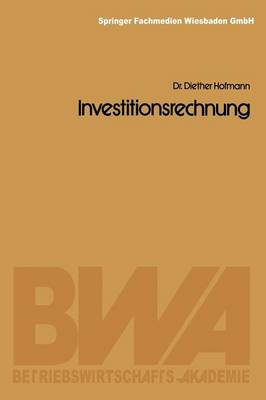 Investitionsrechnung (Paperback)