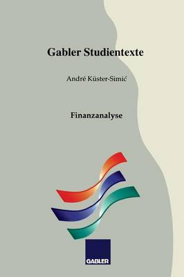 Finanzanalyse - Gabler-Studientexte (Paperback)