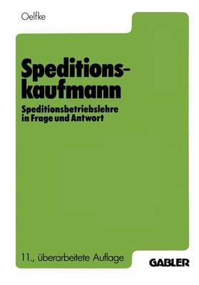 Speditionskaufmann (Paperback)