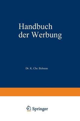 Handbuch Der Werbung (Paperback)