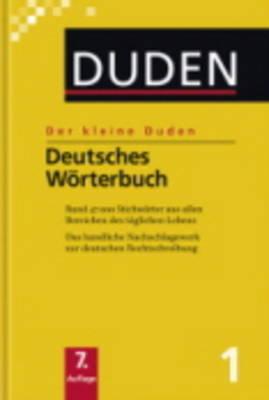 Der Kleine Duden: Der Kleine Duden - Deutsches Worterbuch (Paperback)