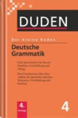 Der Kleine Duden: Deutsche Grammatik (Hardback)