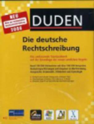 Duden PC-Bibliothek: Die deutsche Rechtschreibung (1 CD-ROM for Windows) (CD-ROM)