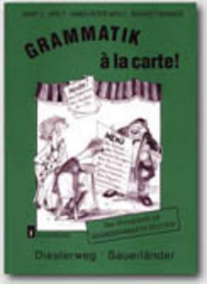 Grammatik a La Carte - Level 1: Ubungsbuch 1 (Paperback)