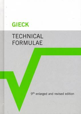 Technical Formulae 9.A.(engl.) (Hardback)