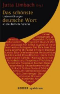 Das Schonste Deutsche Wort (Paperback)