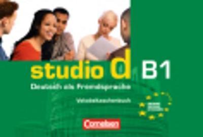 Studio D: Vokabeltaschenbuch B1 (Paperback)
