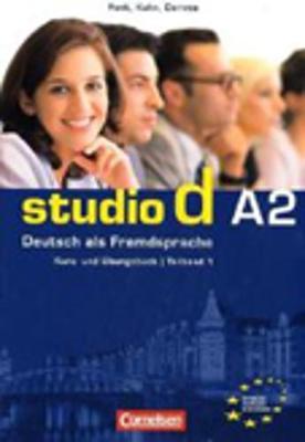 Studio D in Teilbanden: Kurs- Und Ubungsbuch A2 MIT Lerner-CD (Einheit 1-6)