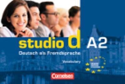 Studio D: Vokabeltaschenbuch A2 Deutsch-Englisch (Paperback)