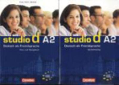 Studio D: Pack - Kurs- Und Arbeitsbuch A2 MIT CD + Sprachtraining A2