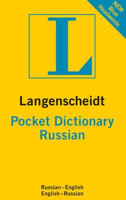 Russian Langenscheidt Pocket Dictionary - Langenscheidt Pocket Dictionary (Paperback)