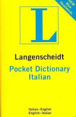 Langenscheidt Pocket Italian Dictionary: English-Italian & Italian-English (Paperback)