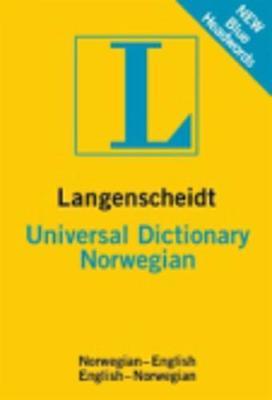 Langenscheidt bilingual dictionaries: Langenscheidt Universal Dictionary Norwegi (Paperback)