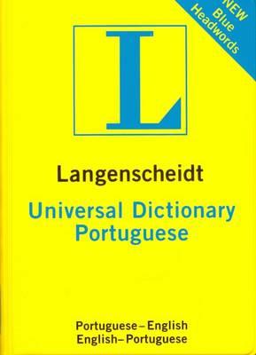 Langenscheidt Portuguese Universal Pocket Dictionary: Portuguese-English & English-Portuguese (Paperback)
