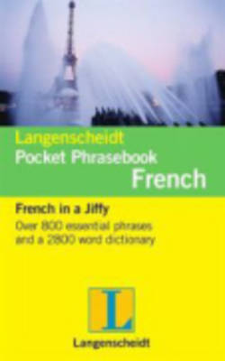 Langenscheidt French Pocket Phrasebook - Langenscheidt Pocket Phrasebooks (Paperback)