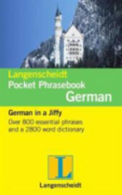 Langenscheidt German Pocket Phrasebook - Langenscheidt Pocket Phrasebooks (Paperback)