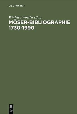 M ser-Bibliographie 1730-1990 (Hardback)