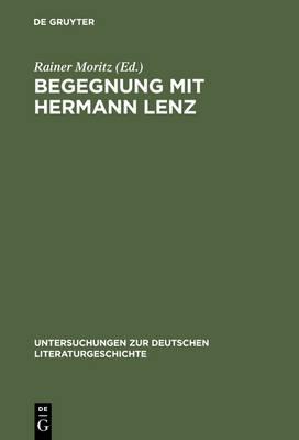 Begegnung mit Hermann Lenz (Hardback)
