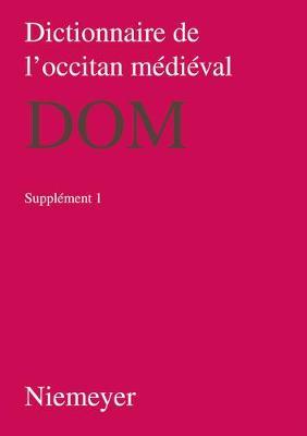 Dictionnaire de l'Occitan M di val (Dom), Supplement 1, Dictionnaire de l'Occitan M di val (Dom) Supplement 1 (Paperback)