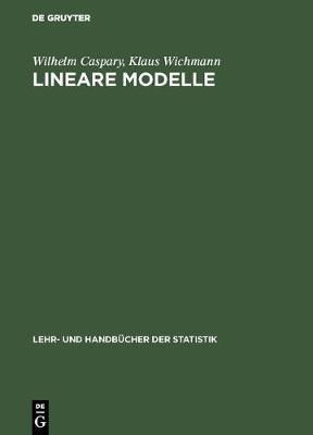 Lineare Modelle - Lehr- Und Handb cher Der Statistik (Hardback)