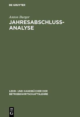 Jahresabschlussanalyse (Hardback)