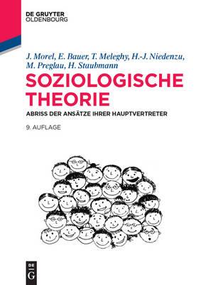Soziologische Theorie: Abriss Der Ans tze Ihrer Hauptvertreter - de Gruyter Studium (Paperback)