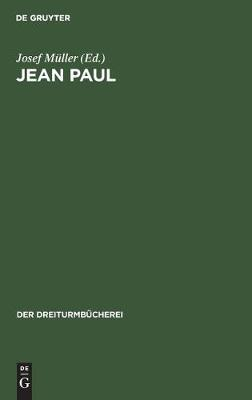 Jean Paul - Der Dreiturmbucherei 5/6 (Hardback)