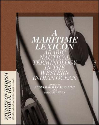 A Maritime Lexicon: Arabic Nautical Terminology in the Indian Ocean (Hardback)