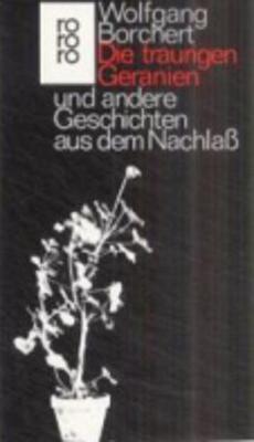Die traurigen Geranien und andere Geschichten (Paperback)