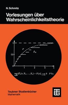 Vorlesungen Uber Wahrscheinlichkeitstheorie (Paperback)
