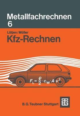 Kfz-Rechnen (Paperback)