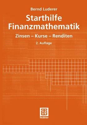 Starthilfe Finanzmathematik (Paperback)
